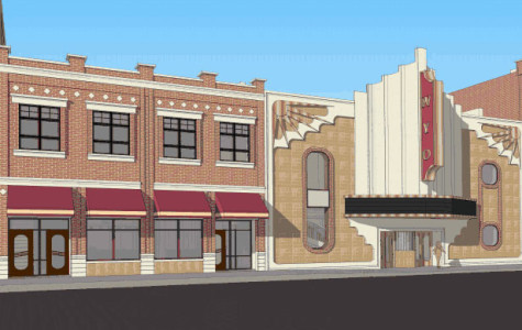 Second Stage Under Construction at WYO Theater