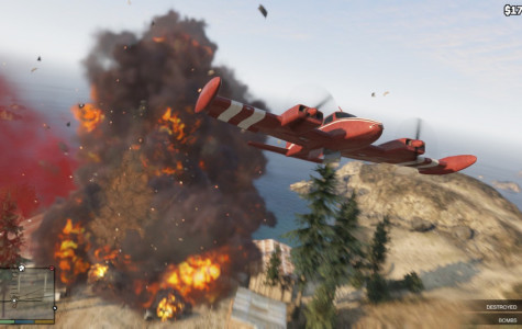 GTA V features an array of interactive vehicles, including planes.