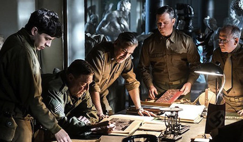 The Monuments Men, a mostly blank canvas