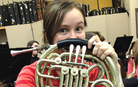 Senior Megan Murdoch played in the District Honor, All State, and All Northwest bands this year.