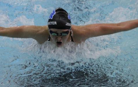Girls' swimming breaks records