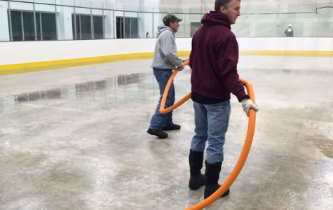 New indoor ice rink is almost ready for action