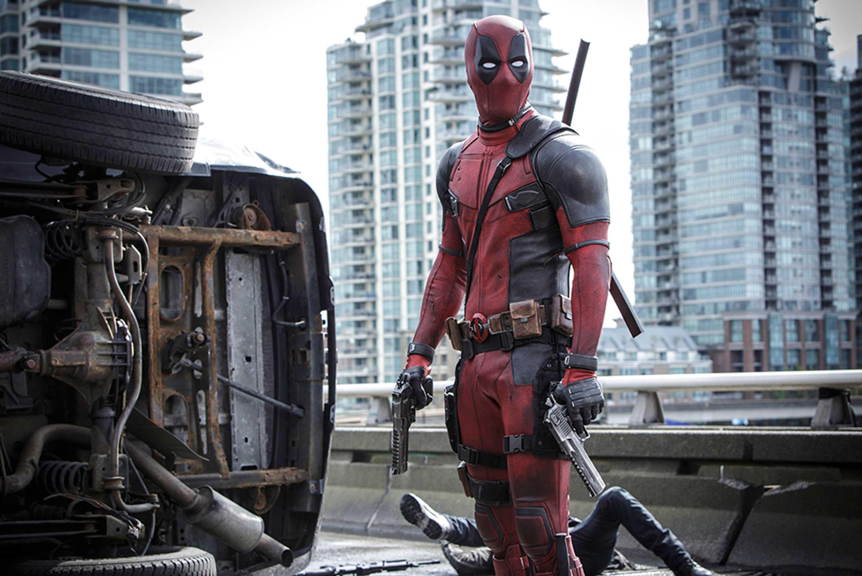 Ryan Reynolds is Marvel Comics' most unconventional anti-hero, Deadpool. (Joe Lederer/20th Century Fox/TNS)