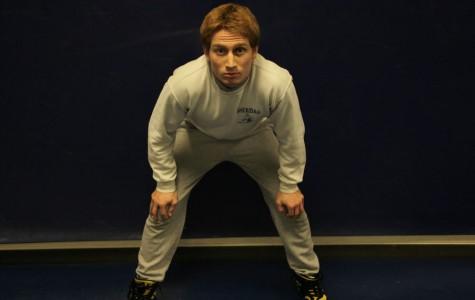 Goss discovers leadership through wrestling