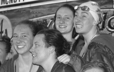Girls swim team wraps successful season with second place finish at state