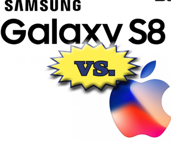 Crossfire: Apple iPhone v. Samsung Galaxy S8 and Note 8