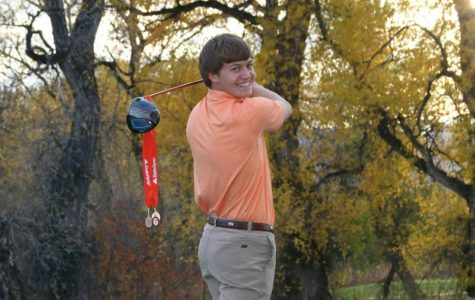 Ambitious senior aspires to play professional golf
