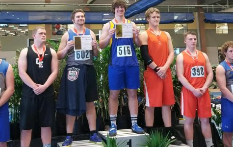 Long-time thrower finds success in final year