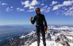 Adventurous senior tackles the Grand Tetons in first climb