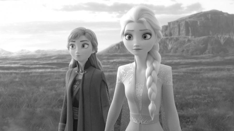 "Anna, played by Kristen Bell, and Elsa, played by Idina Menzel, star in the much anticipated sequel ""Frozen 2."""