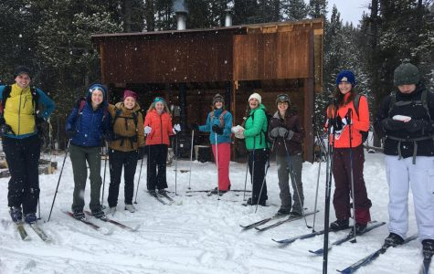The Outdoor Club participates in several activities throughout the community, such as cross country skiing. The club went up to Sibley Lake Campground this winter season.