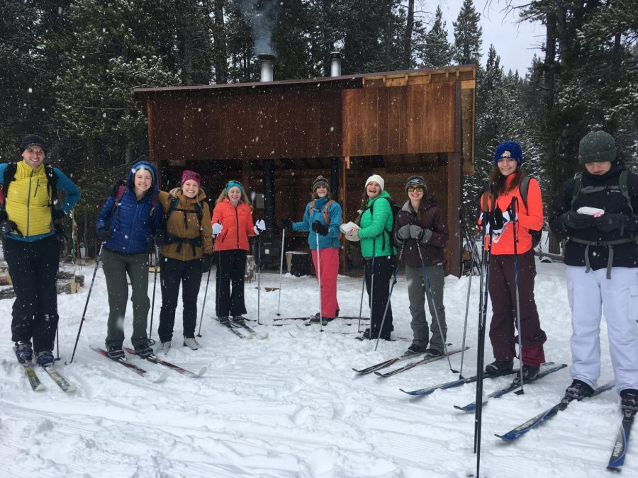 The+Outdoor+Club+participates+in+several+activities+throughout+the+community%2C+such+as+cross+country+skiing.+The+club+went+up+to+Sibley+Lake+Campground+this+winter+season.+